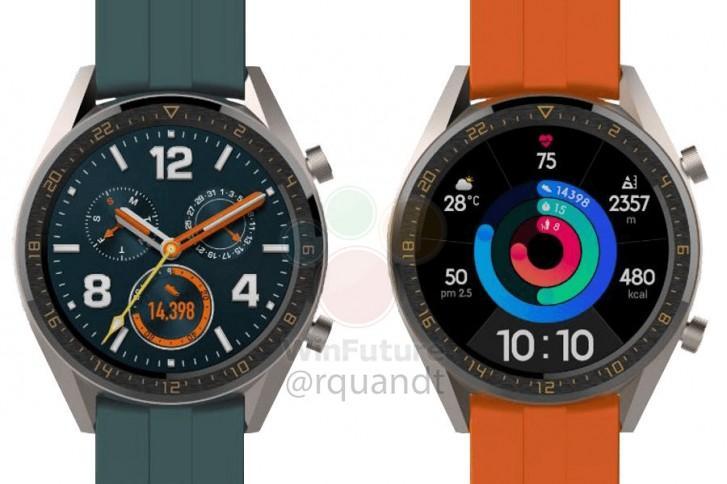 Huawei выпустит двое часов Watch GT вместе с P30 в марте (gsmarena 001 2 1)