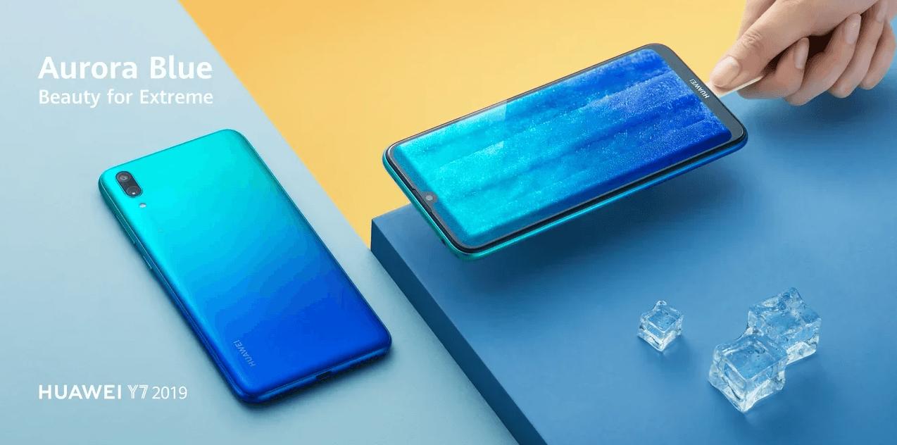 Huawei выпустила смартфоны Y6 и Y7 2019 в России (h5)