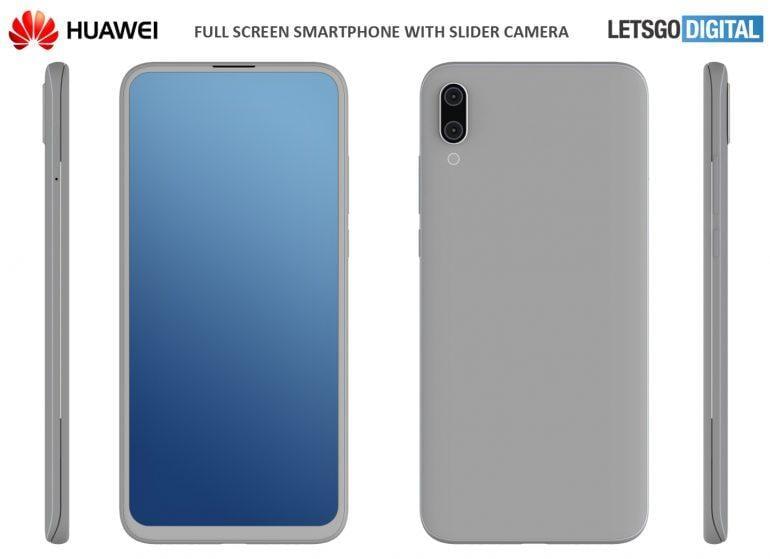 Huawei может выпустить смартфон с выдвижной камерой (huawei smartphone met uitschuifbare camera)
