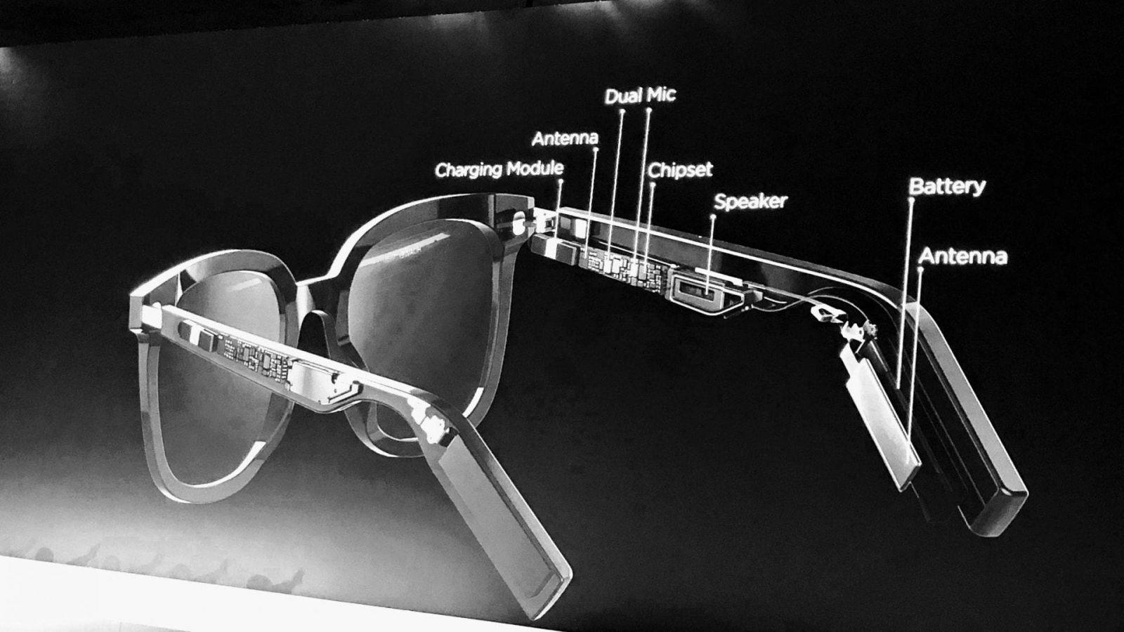 Huawei работает с Gentle Monster над модными умными очками без камеры (huawei gentle monster glasses tech)