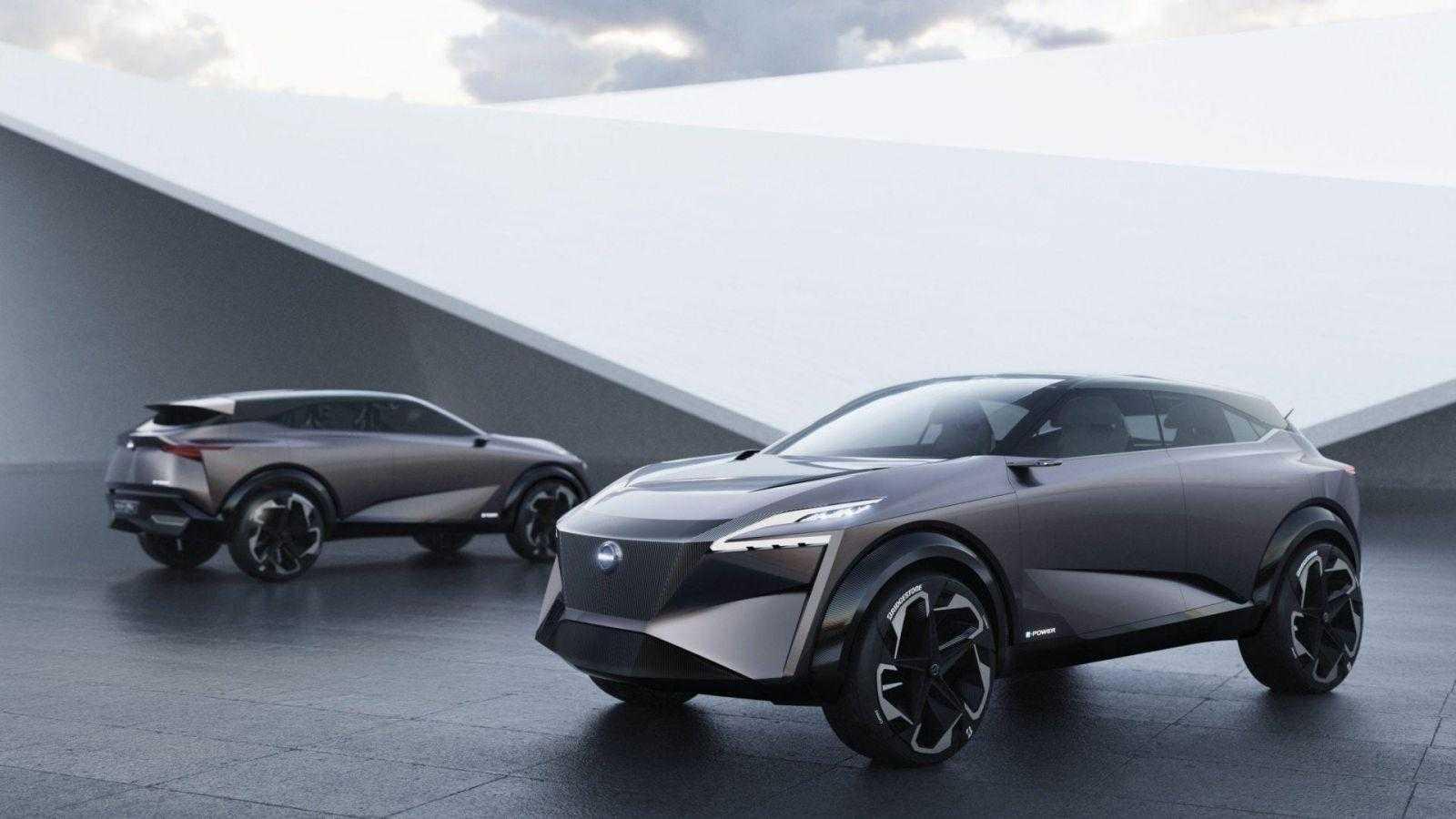 Концепт-кар Nissan IMQ похож на стелс-истребитель, а не на кроссовер (imq concept car 12 1551740434)