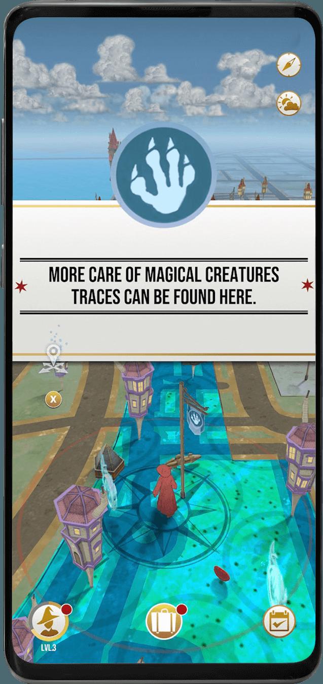 Harry Potter: Wizards Unite. Всё, что нужно знать об этой игре (in phone landmark game map)