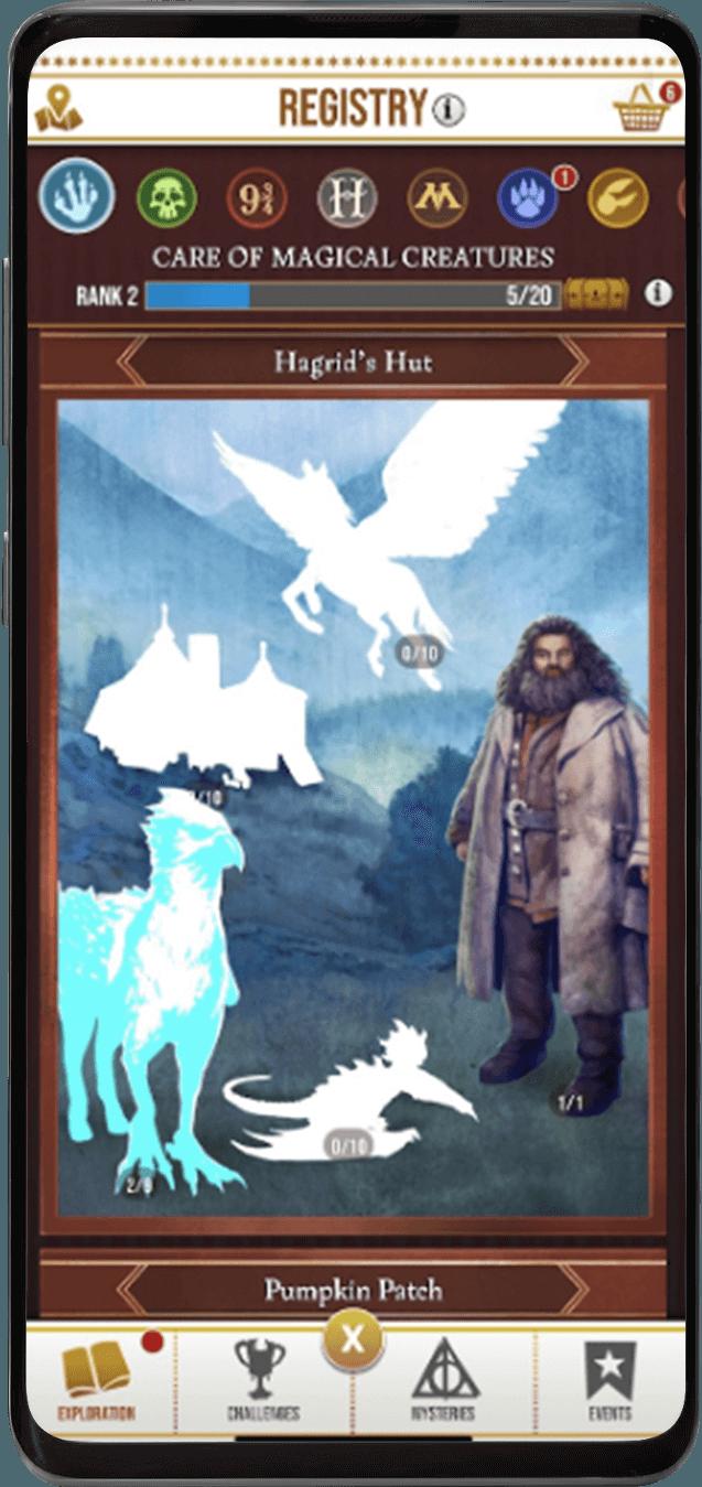 Harry Potter: Wizards Unite. Всё, что нужно знать об этой игре (in phone registry)