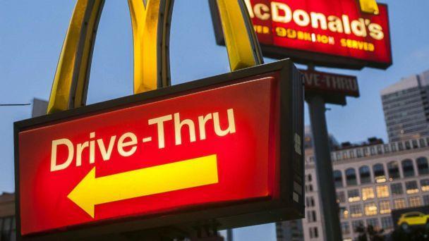 McDonald's приобрел стартап в области машинного обучения Dynamic Yield (mcdonalds drive thru sign nc jc)
