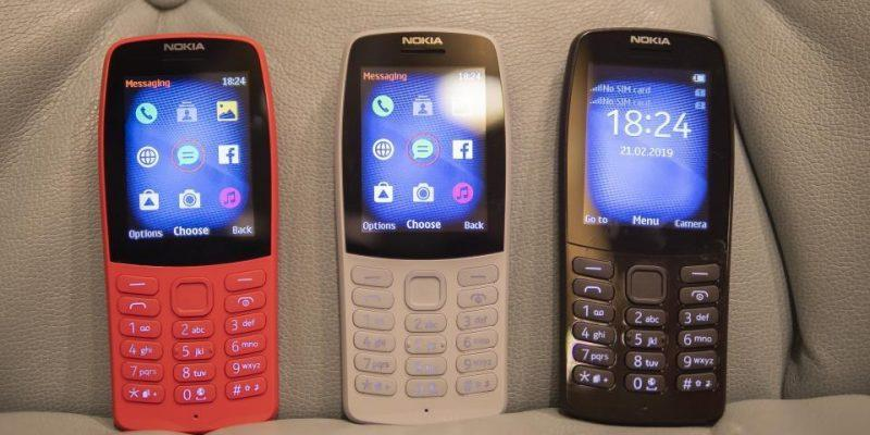 HMD Global начала продажи Nokia 210 в России (nokia 210 front)