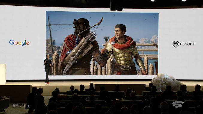 GDC 2019. Google представил игровой стриминговый сервис Stadia. Бывший Project Stream ()
