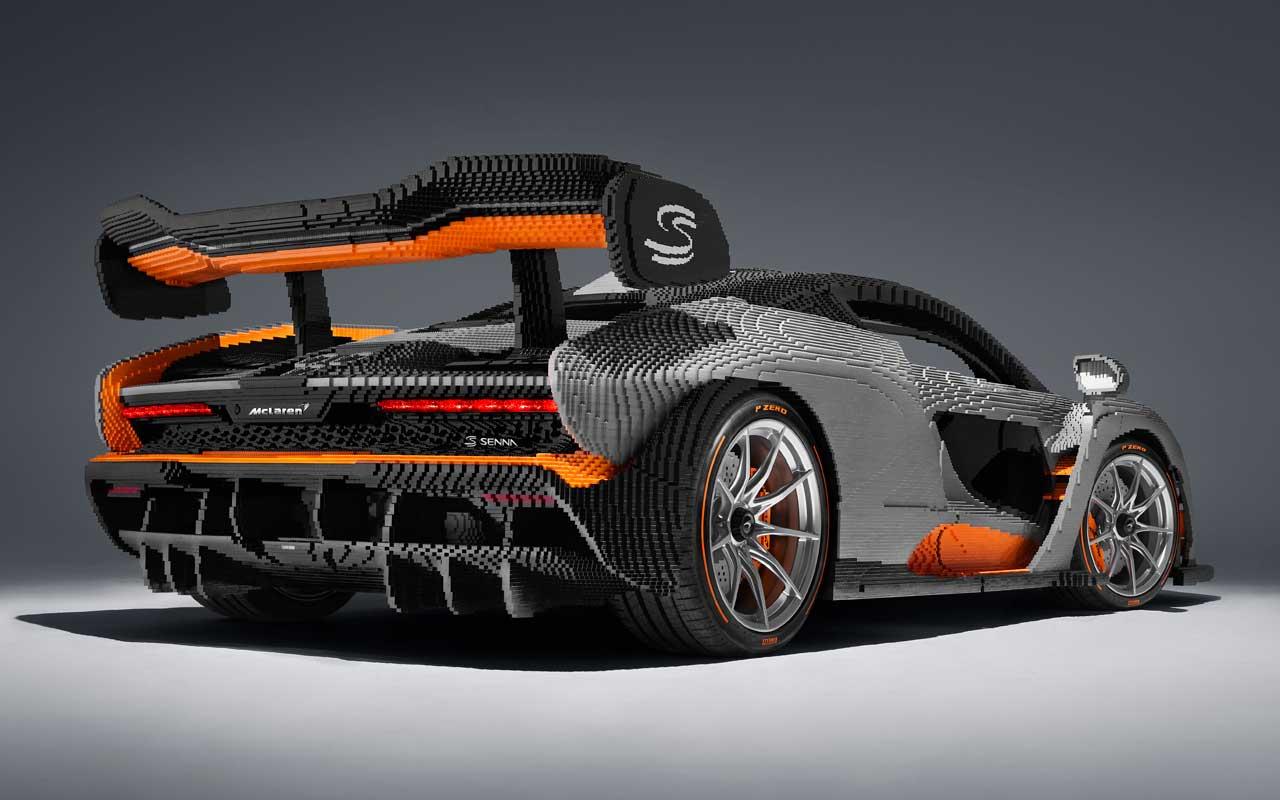 McLaren Senna собрали из Lego и он весит больше оригинала (senna lego 3)