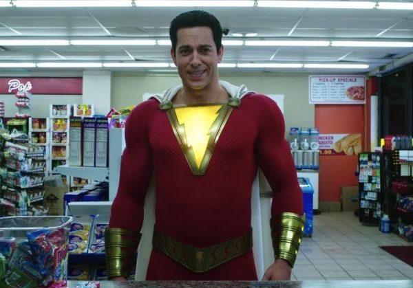DC показала «Shazam!» фанатам на 2 недели раньше релиза (shazam zachary levi trailer)