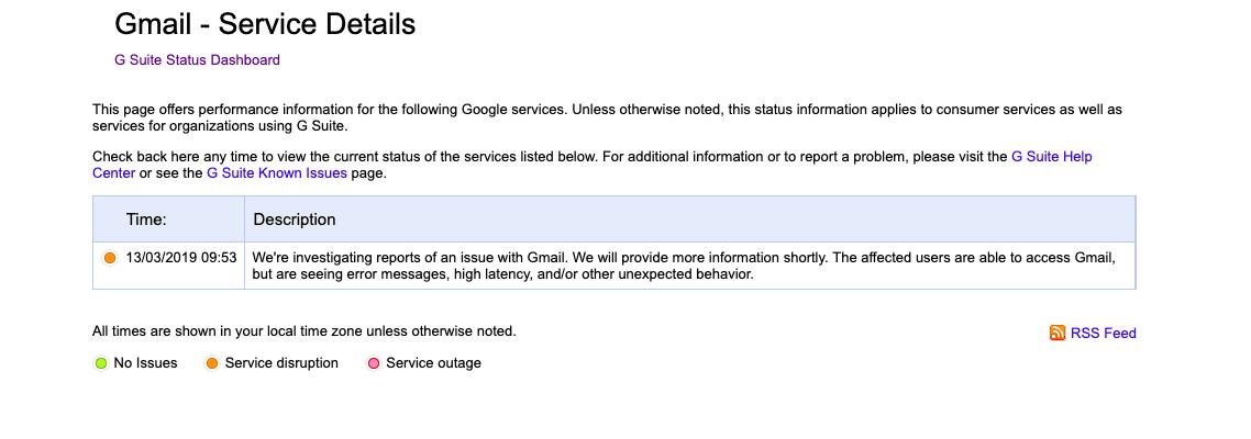 Пользователи по всему миру жалуются на сбой в работе Gmail (snimok jekrana 2019 03 13 v 10.47.39)