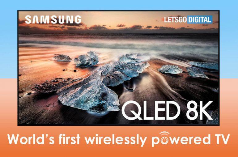 Samsung собирается делать беспроводные телевизоры (televisie zonder stroom kabel)