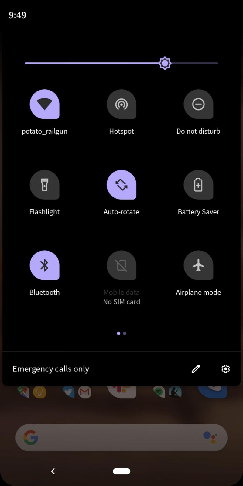 Обзор бета-версии Android Q. Первые впечатления (tema4)
