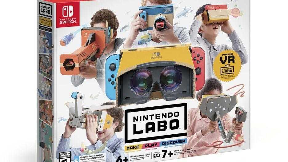 Nintendo выпустила VR-набор Labo для Switch (unnamed file)