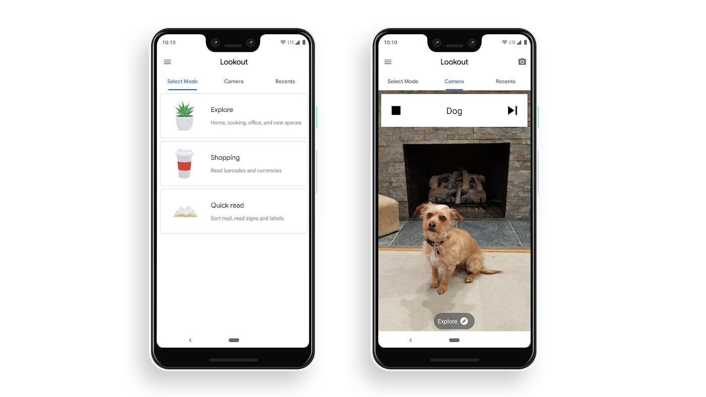 Google выпустила приложение Lookout, распознающее объекты для слабовидящих ()