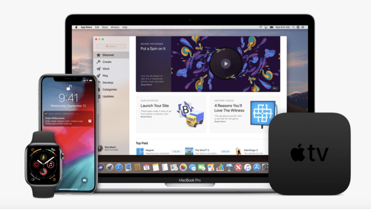 Apple распространяет пятые бета-версии для разработчиков iOS 12.2, watchOS 5.2, tvOS 12.2, macOS 10.14.4 (watchos 5.1 and tvos 12.1 beta 3)