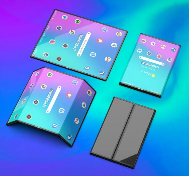 Складной смартфон Xiaomi Mi Fold показали на видео (xiaomi vouwbare smartphone)