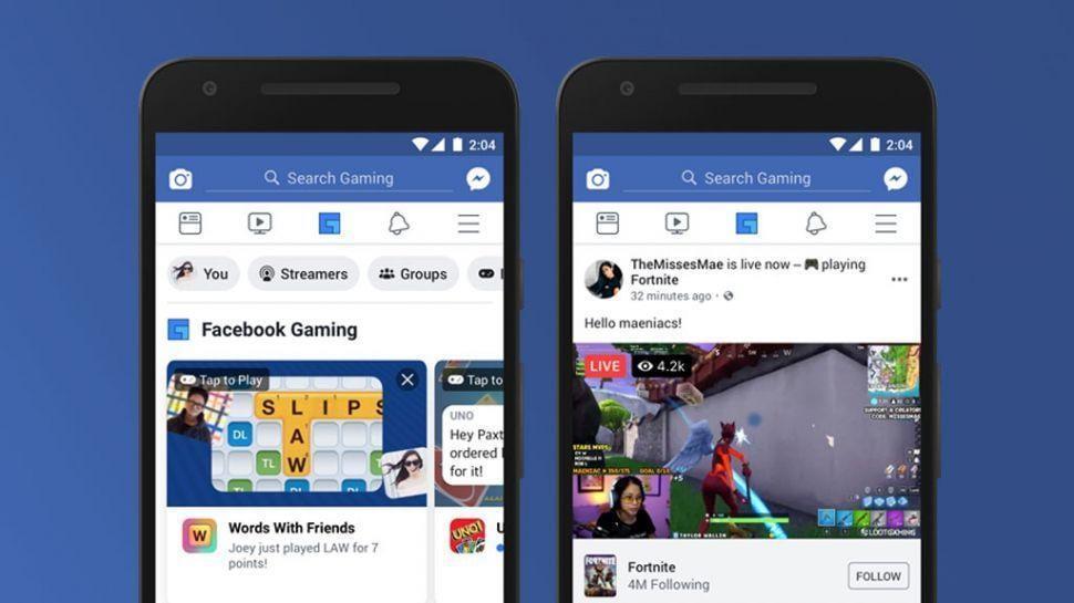 Приложение Facebook получило новый раздел с играми на панели навигации (xsjweepy8arya82swtr4sh 970 80)