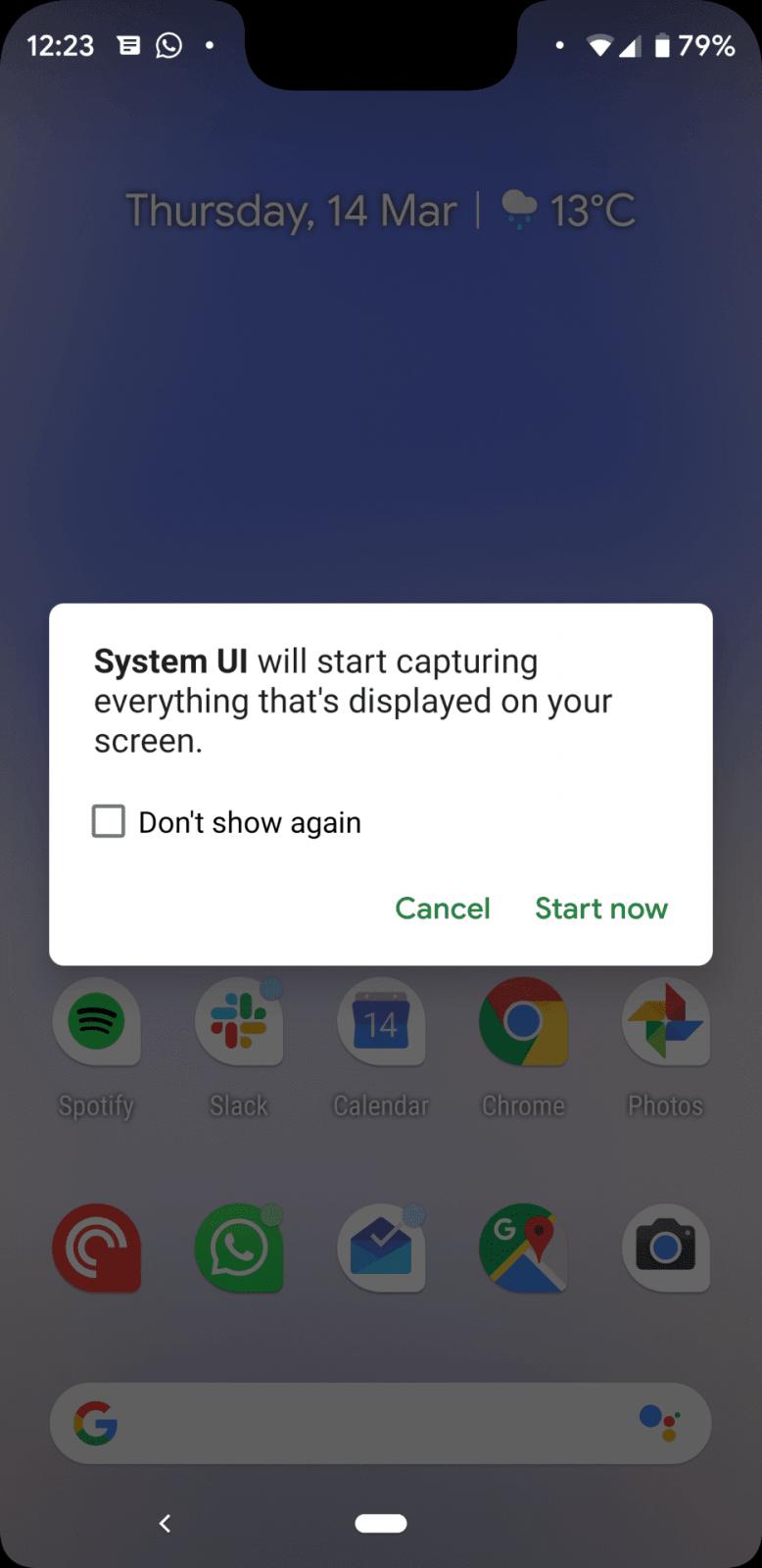 Обзор бета-версии Android Q. Первые впечатления (zapis jekrana 4)