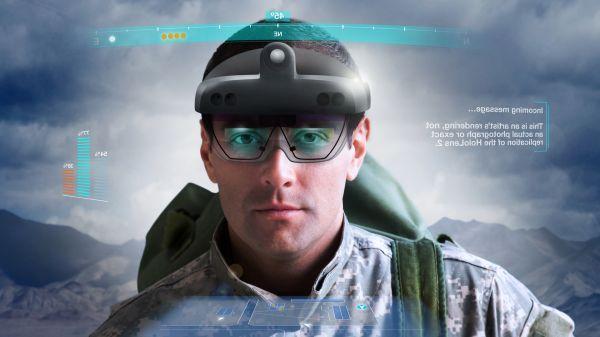 Microsoft сделала очки HoloLens для армии США (105836626)