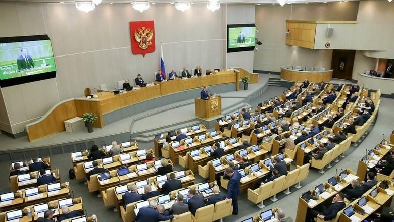 В России государственная дума приняла закон об ограничениях интернета (5b4dc535183561745d8b460d)