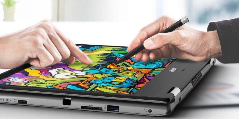 Acer выпустила новый ноутбук-трансформер Acer Spin (acer spin 3 01)