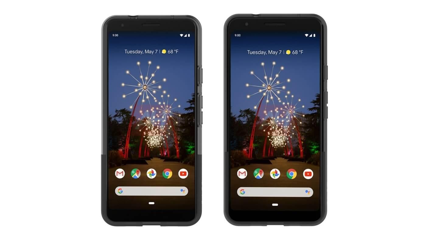 В сети появились официальные рендеры смартфонов Google Pixel 3a и Pixel 3a XL (ah google pixel 3a and 3a)