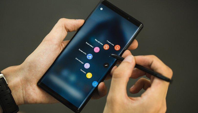 Смартфон Samsung Galaxy Note 10 выйдет в двух размерах (androidpit galaxy note 9 9509 w810h462)