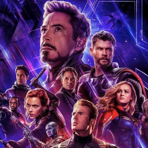 """""""Мстители"""" заработали за первый прокатный уикенд более 1,2 миллиарда долларов (avengers endgame poster top half)"""