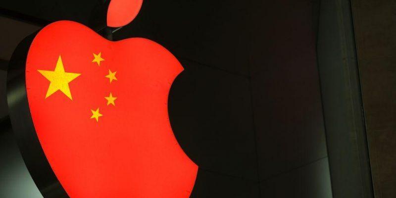 Apple удаляет продемократическую музыку из китайского Apple Music (china apple)
