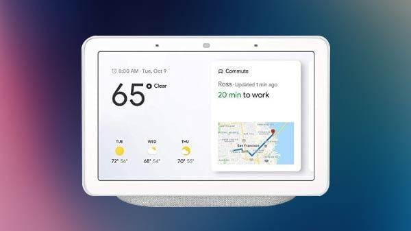 Google случайно рассекретила Nest Hub Max с 10-дюймовым экраном и встроенной камерой (com 1553946419)