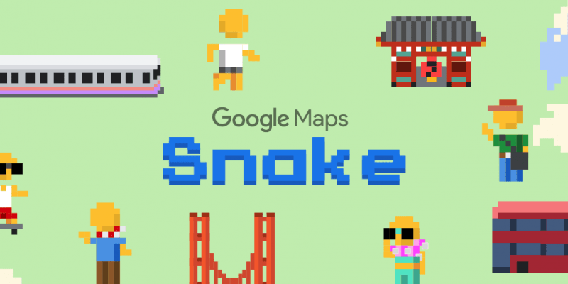 1 апреля: Google Maps добавила игру Змейка в приложение ко дню дурака (d3awgkjwoayom4y.0 1)