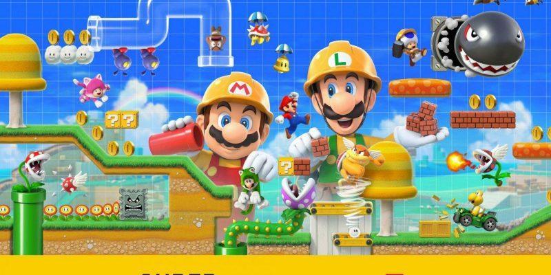 Super Mario Maker 2 для Nintendo Switch выйдет 28 июня (d48fwrcuuae9otl)
