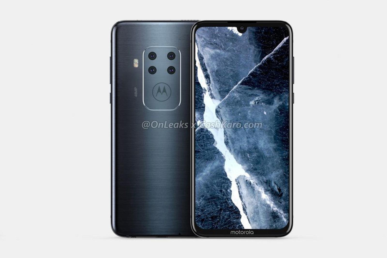 Неизвестный смартфон Motorola может получить четыре камеры (dims 18)