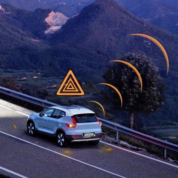 Автомобили Volvo в Европе будут предупреждать друг друга об опасных дорожных условиях (dims 5)