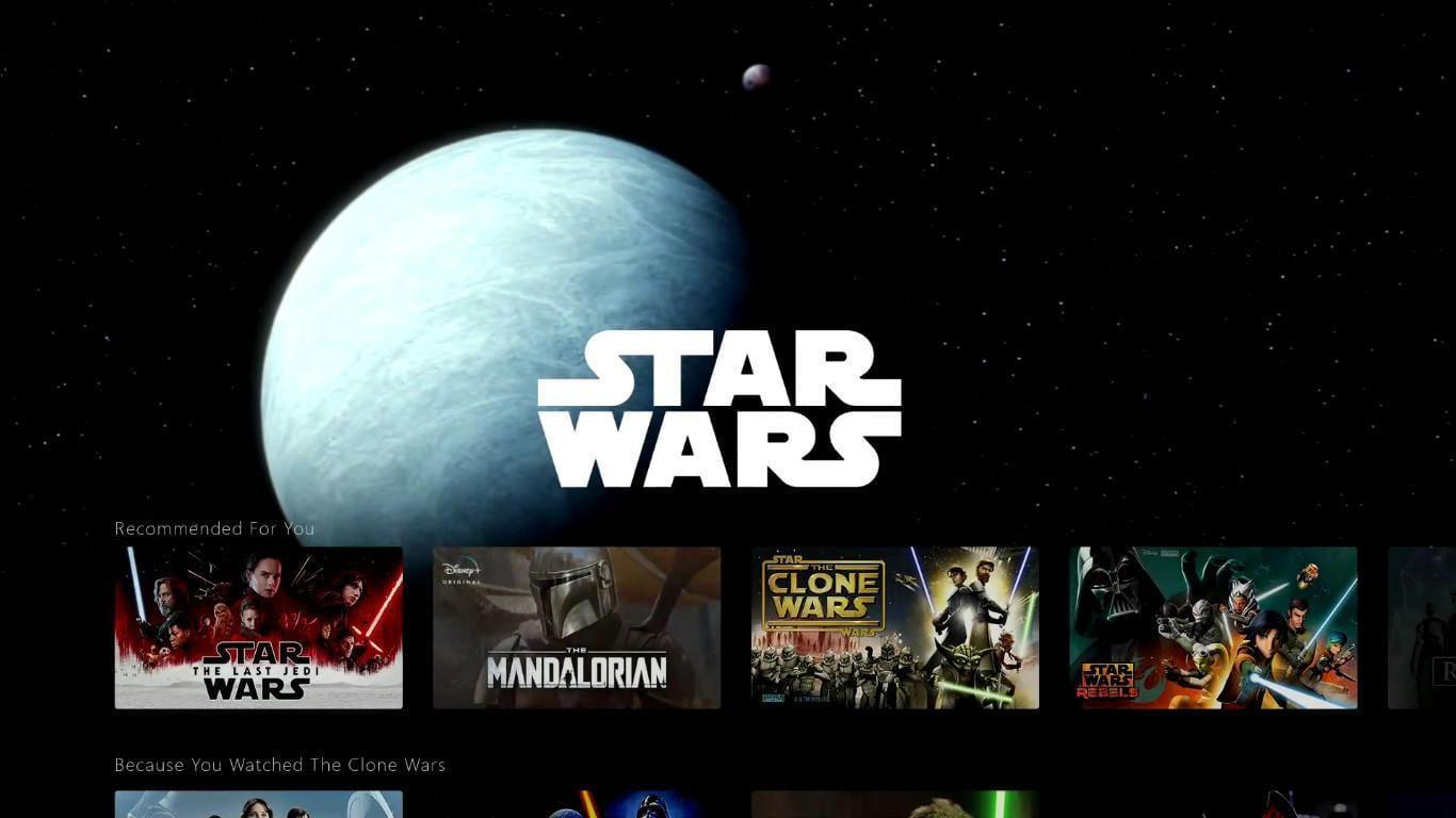 Disney+: всё, что вам нужно знать о новом потоковом сервисе Disney (disney plus investor day screenshots star wars tab 3cdd)