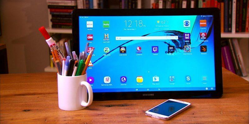 В сеть утекли рендеры планшета Samsung Galaxy View 2 (flsamsunggalaxyview)