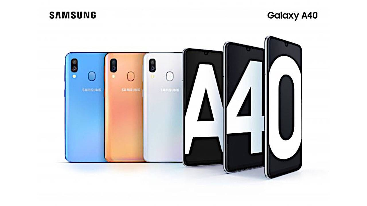 Samsung наполнил свою линейку Galaxy A смартфонами A20, A30, A40, A50, A70 и A80 (galaxy a40)