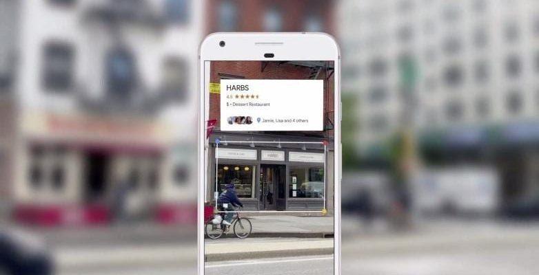 """Приложение Google Lens добавит новые """"фильтры"""" перевода и поиска ресторанов (google lens app)"""