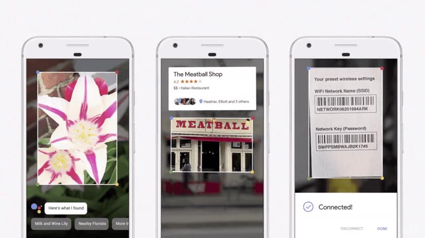 """Приложение Google Lens добавит новые """"фильтры"""" перевода и поиска ресторанов (google lens)"""
