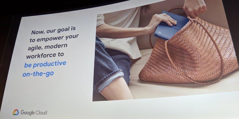 Будущие ноутбуки и планшеты Google Pixel будут ориентированы на корпоративный рынок (google next pixelbook target 3)