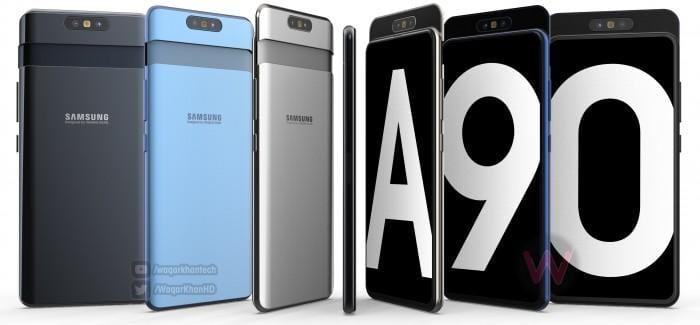 Samsung Galaxy A90 получит поворотную камеру 48 мпикс и дисплей 6,7 дюймов (gsmarena 002 2)