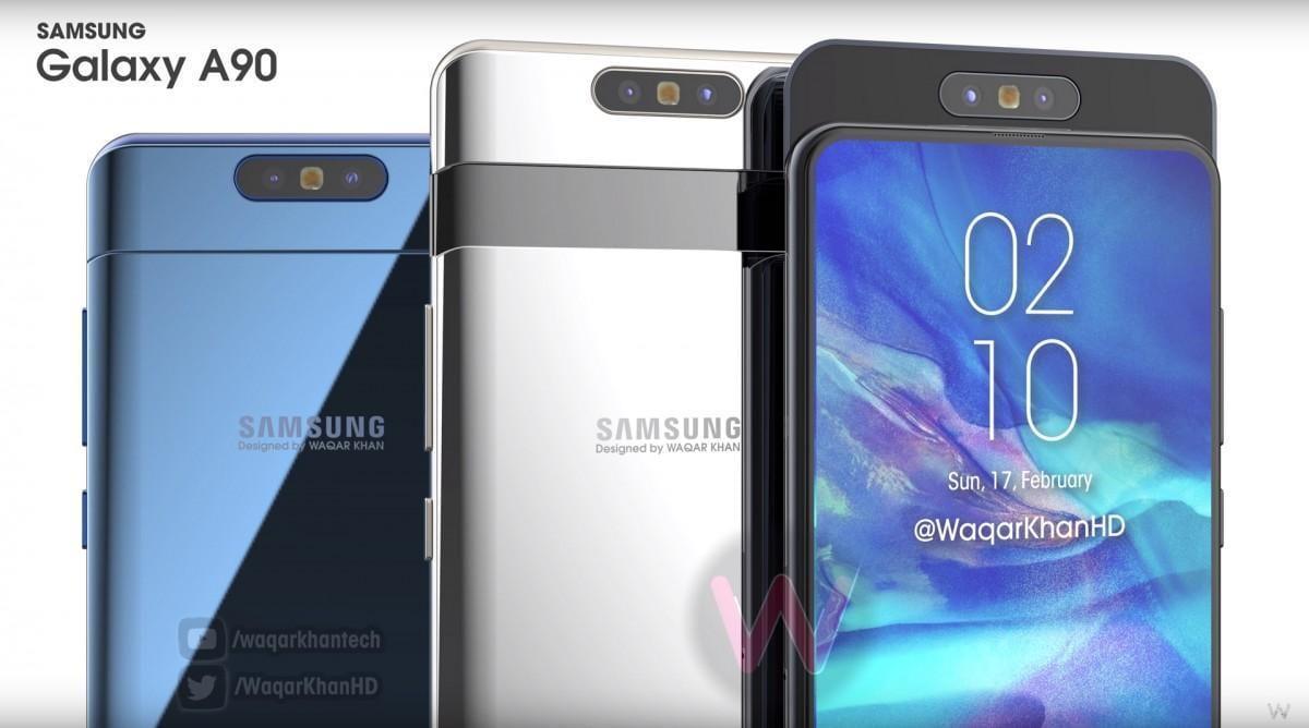 Samsung Galaxy A90 получит поворотную камеру 48 мпикс и дисплей 6,7 дюймов (gsmarena 006)