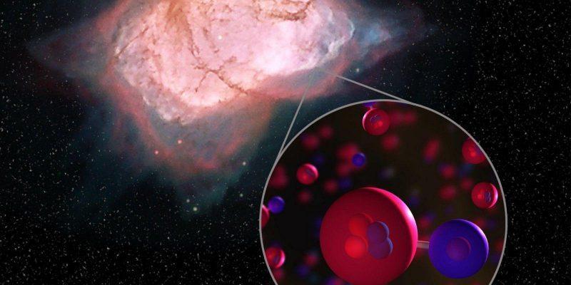 Астрономы НАСА обнаружили самую первую молекулу во Вселенной (heh v10)