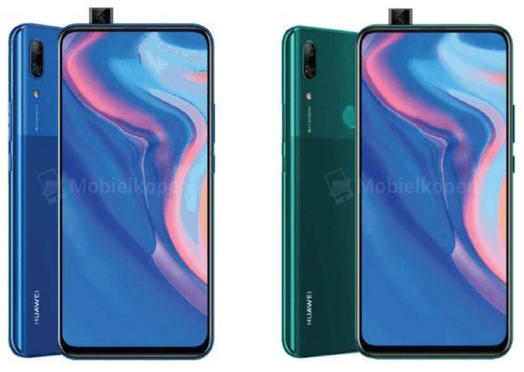 В сети появились изображения первого смартфона Huawei с всплывающей селфи-камерой - Huawei P Smart Z (huawei p smart z 1 740x525 1)