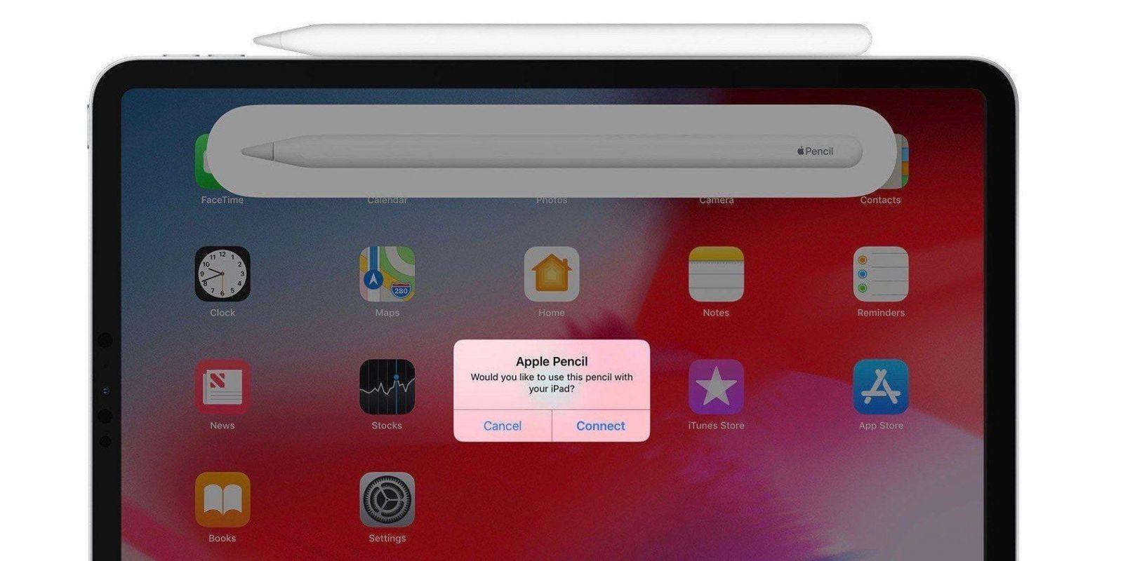 Как подключить Apple Pencil к вашему iPad (ipad apple pencil close up)