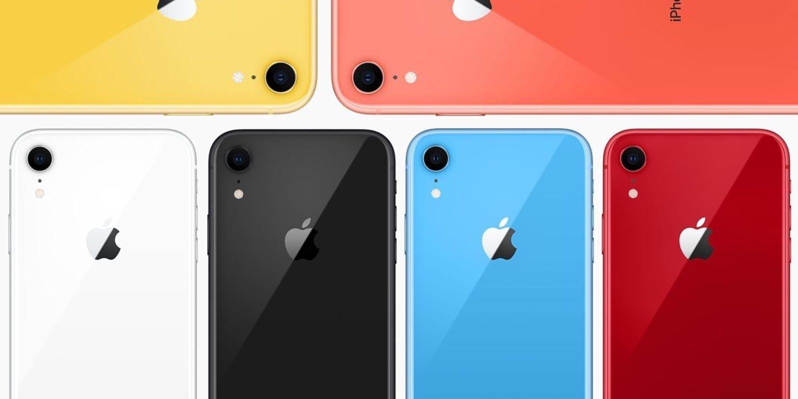 Apple iPhone XR 2 получит двойную камеру (iphone xr colors)