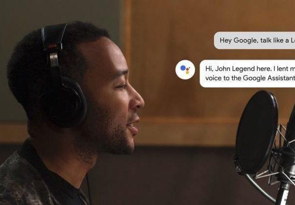 Google Assistant стал леген-дарным (john legend google assistant)