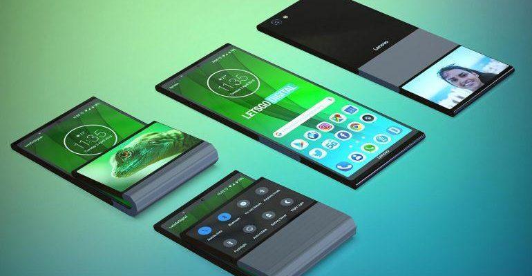 Lenovo готовит складной смартфон со вторым дисплеем (lenovo opvouwbare smartphones 770x535 1)