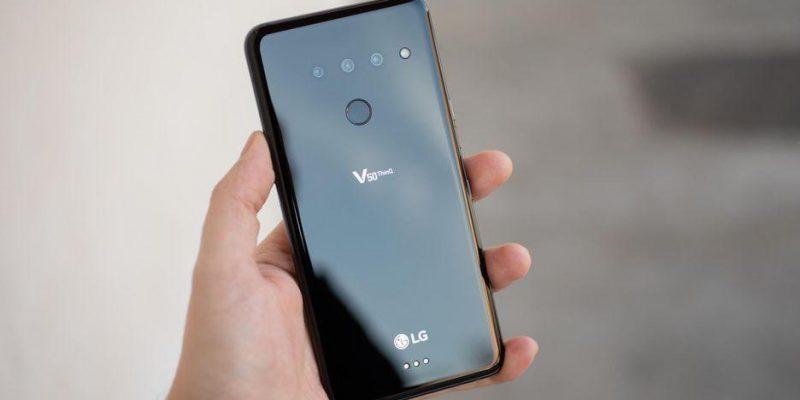 Стала известна дата выхода и цена 5G-смартфона LG V50 ThinQ (lg v50 thinq mwc 2019 5)
