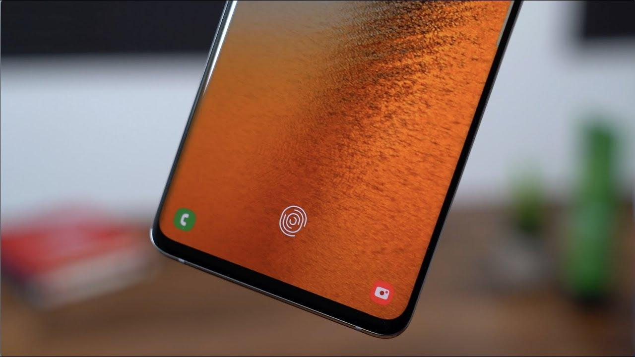 Датчик отпечатков пальцев Samsung Galaxy S10 смогли обмануть ()