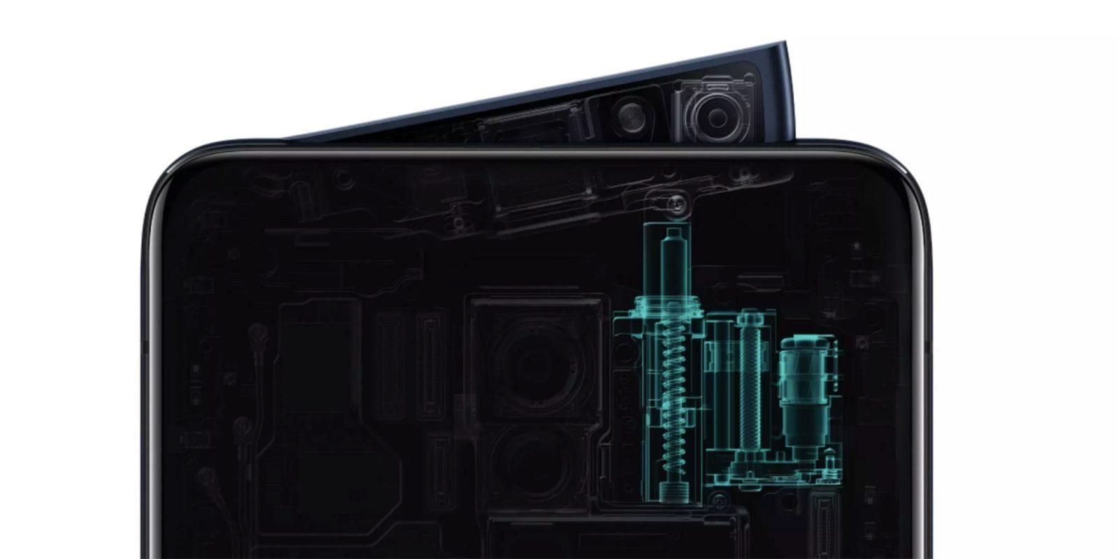 Oppo представила Oppo Reno с необычной клинообразной селфи-камерой (oppo reno pop up camera)